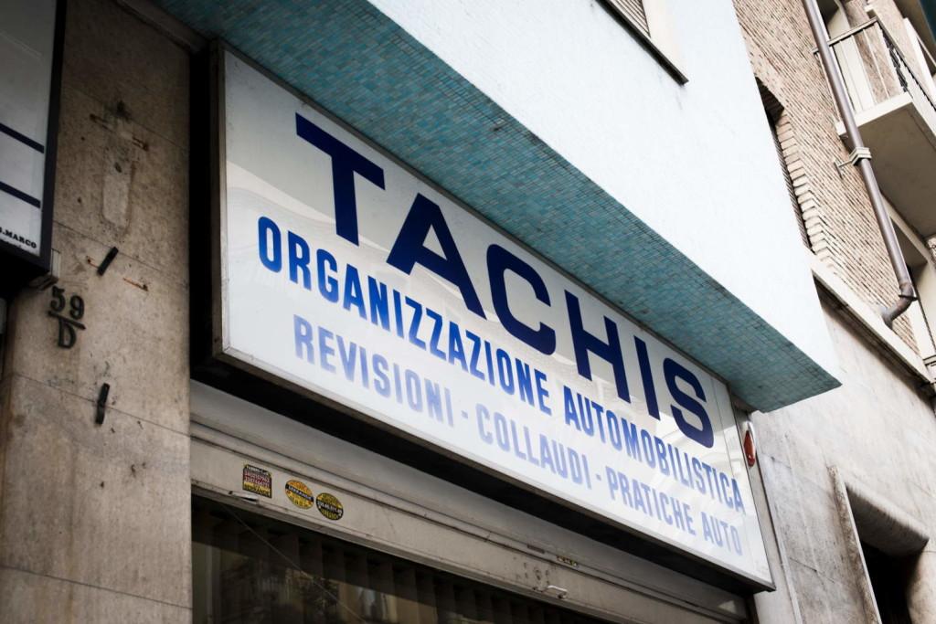 Insegna Tachis Torino
